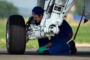 Hydraulics operate wheels, brakes, flaps, controls and more